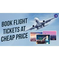 Book Flight ticket on cheap rate