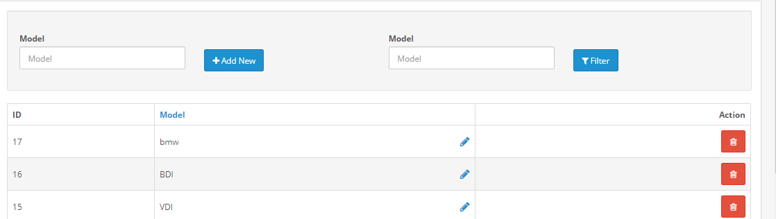 opencart ymm extension creating model from admin